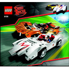 LEGO Speed Racer & Snake Oiler Set 8158 Instructions