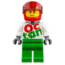 LEGO Speed Record Car Driver Minifigure