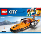 LEGO Speed Record Car Set 60178 Instructions