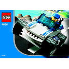 LEGO Speedy Police Car Set 4666 Instructions