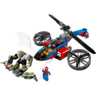 LEGO Spider-Helicopter Rescue Set 76016