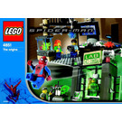LEGO Spider-Man and Green Goblin -- The origins Set 4851 Instructions