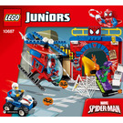 LEGO Spider-Man Hideout Set 10687 Instructions