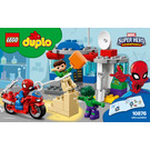 LEGO Spider-Man & Hulk Adventures Set 10876 Instructions