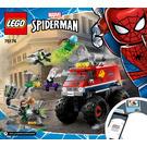 LEGO Spider-Man's Monster Truck vs. Mysterio Set 76174 Instructions