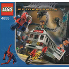 LEGO Spider-Man's Train Rescue Set 4855