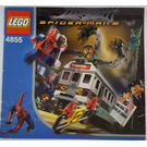 LEGO Spider-Man's Train Rescue Set 4855 Instructions