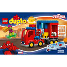 LEGO Spider-Man Spider Truck Adventure Set 10608 Instructions
