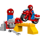 LEGO Spider-Man Web-Bike Workshop (10607)