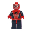 LEGO Spider-Man with Silver Eyes and Dark Blue Arms/Legs Minifigure