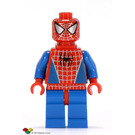 LEGO Spider-Man with Silver Eyes and Neck Bracket Minifigure