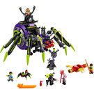 LEGO Spider Queen's Arachnoid Base Set 80022