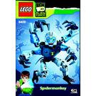 LEGO Spidermonkey Set 8409 Instructions