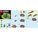 LEGO Spinjitzu Burst Lloyd Set 70687 Instructions