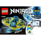 LEGO Spinjitzu Jay Set 70660 Instructions