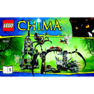 LEGO Spinlyn's Cavern Set 70133 Instructions