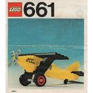 LEGO Spirit of St. Louis Set 661 Instructions