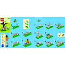 LEGO Springtime Scene Set 40052 Instructions