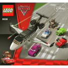 LEGO Spy Jet Escape Set 8638 Instructions