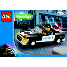 LEGO Squad Car Set 7030 Instructions