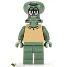 LEGO Squidward with Non-standard Head Minifigure