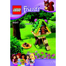 LEGO Squirrel's Tree House Set 41017 Instructions