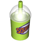 LEGO Squishie Drinks Cup with Straw (20398 / 20495 / 21791)