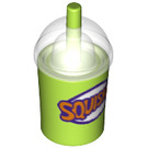 LEGO Squishie Drinks Cup with Straw (20495 / 21791)