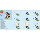 LEGO St. Bernard Dog Set 40249 Instructions