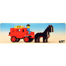 LEGO Stage Coach Set 697