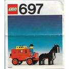 LEGO Stage Coach Set 697 Instructions
