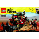LEGO Stagecoach Escape Set 79108 Instructions