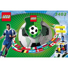 LEGO Stand with Lights Set 3402 Instructions