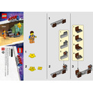 LEGO Star-Stuck Emmet Set 30620 Instructions