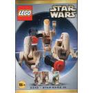 LEGO Star Wars #4 - Battle Droid Commander and 2 Battle Droids Set 3343