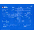 LEGO Star Wars 75181 Y-Wing Blue Print (Black VIP Card Exclusive) (5005624)