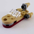 LEGO Star Wars Advent Calendar Set 75056-1 Subset Day 12 - Luke's Landspeeder