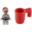 LEGO Star Wars Advent Calendar Set 75056-1 Subset Day 4 - Santa Clone Trooper
