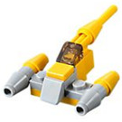 LEGO Star Wars Advent Calendar Set 75213-1 Subset Day 7 - Naboo Starfighter