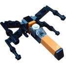 LEGO Star Wars Advent Calendar Set 75245-1 Subset Day 5 - Poe's X-Wing Fighter