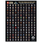 LEGO Star Wars Anniversary Minifigure Poster