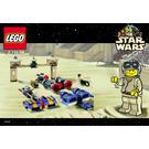 LEGO Star Wars Podracing Bucket Set 7159 Instructions