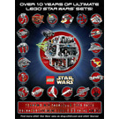 LEGO Star Wars Poster - Over 10 Years of Ultimate LEGO Star Wars Sets