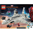 LEGO Stark Jet and the Drone Attack Set 76130 Instructions