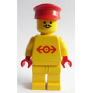 LEGO Station Master with Yellow Shirt Minifigure