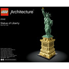 LEGO Statue of Liberty Set 21042 Instructions