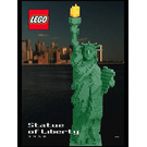 LEGO Statue of Liberty Set 3450 Instructions