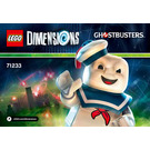LEGO Stay Puft Fun Pack Set 71233 Instructions
