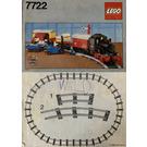 LEGO Steam Cargo Train Set 7722 Instructions