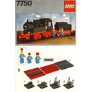 LEGO Steam Engine with Tender Set 7750 Instructions